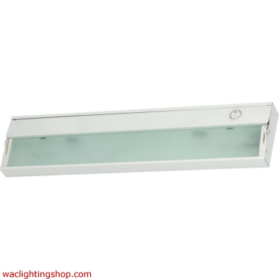 Zeeline 2 Lamp Xenon Cabinet Light In White With Diffused Glass