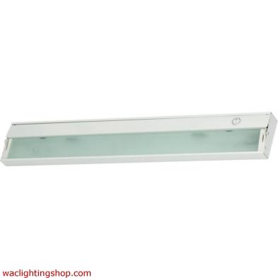 Zeeline 3 Lamp Xenon Cabinet Light In White With Diffused Glass