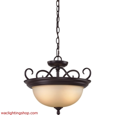 Chatham 2 Light Convertible In Oil Rubbed Bronze 1102CS/10