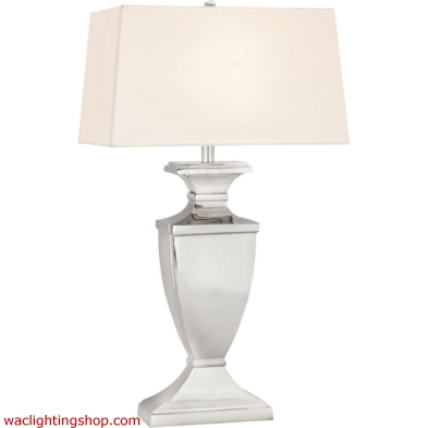 Aplomb 1 Light Table Lamp In Polished Nickel