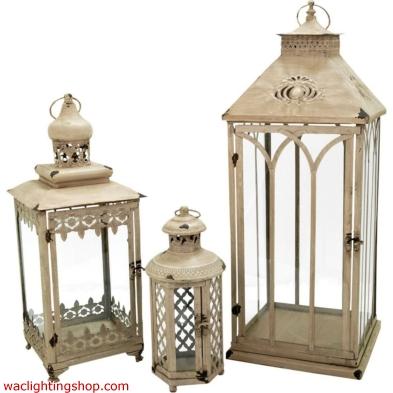 Hathaway Set of 3 Nesting Lanterns