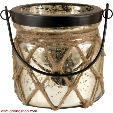 Candice Lantern In Antique Wheat