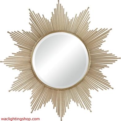Churchfield Metal Frame Starburst Mirror
