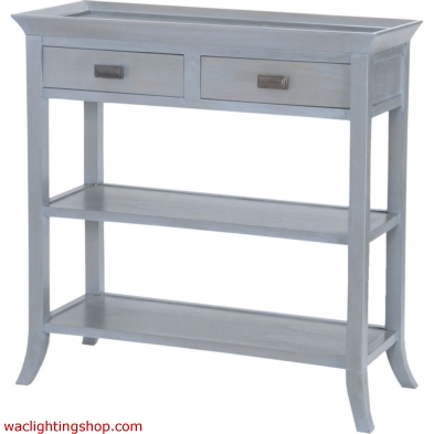 Tamara Console Table In Gravesend Grey