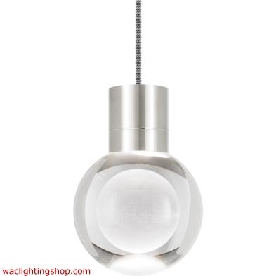 Mina Pendant - Clear - Black/White - LED - Warm - Color - Dimming - 3000K - 2200K 700TDMINAP3CIS-LEDWD