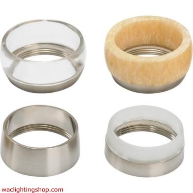 Om accent ring - solid antique bronze